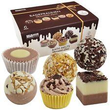 BRUBAKER Boules de bain 'Chocolate Love' - 6 Pièces - Coffret cadeau - Vegan