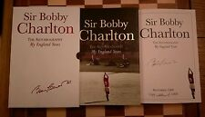 Bobby Charlton SIGNED SLIPCASED LIMITED EDITION Autobiography My England Years
