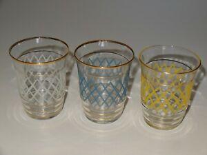 Retro Vintage Glassware. 1950s or 1960s.