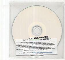 (JD508) Krystle Warren, Sunday Comfort - 2009 DJ CD