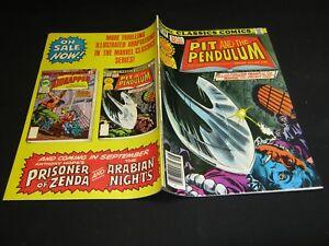 Marvel Classics Comics #28 PIT and the PENDULUM (1978, Marvel) VF/NM