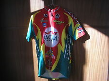 MAGLIA SACLA' COLNAGO GIORDANA JERSEY CYCLING CICLISMO MAILLOT CYCLISME SIZE L
