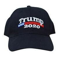 Trump 2020 President Make America Great Again MAGA Baseball Cap Hat BLACK GVUS