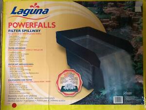 Laguna Filter mit Abflusskanal Modell POWERFALLS