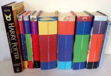 Harry Potter Complete Set Collection 9 Hardback Books Plus Cursed Child & Beadle