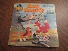 45 tours livre disque rox et rouky walt disney raconte par JACQUES MARTIN