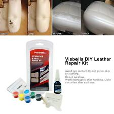 DIY Liquid Leather and Vinyl Repair Kit No Heat Process Fix Cracks Scratches