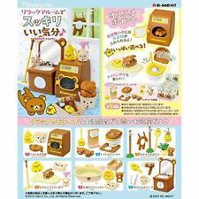 RE-MENT Miniatua Rilakkuma BONJOUR Bistro BOX SET COMPLETO DI 8 confezioni dal Giappone
