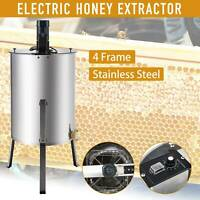 4/8 Frame Stainless Steel Honey Extractor Electric Beekeeping
