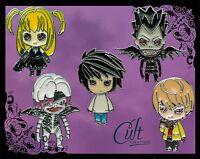 Death Note metal & enamel pins / pin badges Choose pins or buy as a set of five