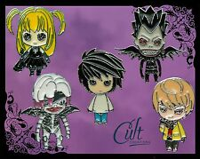 More details for death note metal & enamel pins / pin badges choose pins or buy as a set of five