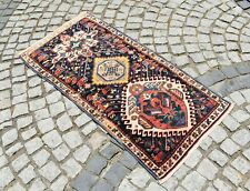 Marvelous Antique Rug Rare Awesome Design Caucasian Rug Collector's Piece Rug