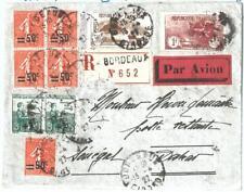 70995 - FRANCE - Postal History -  FLIGHT Cover:   LIGNE MERMOZ to SENEGAL 1927