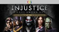 Injustice Gods Among Us Ultimate Edition Steam Key Digital Download PC [Global]