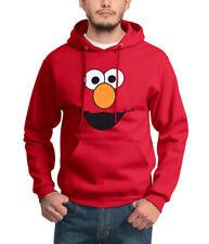 Sesame Street Elmo Face Adult Hoodie