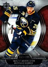 2013-14 UD Ultimate Collection #19 Matt Moulson