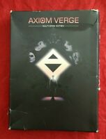 Axiom Verge Nintendo Switch 2017 Multiverse Box Inserts Manual Extras NO Game