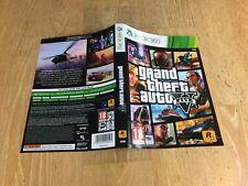 Repuesto Original De Xbox 360/Caso de reemplazo Incrustación Art-Grand Theft Auto 5 GTA 5