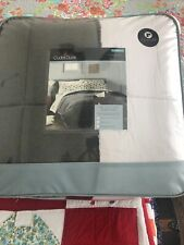 NWT Cuddl Duds Gray Soft Comforter Twin