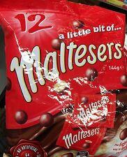Maltesers Mini milk Chocolate 144g 12 mini per Pack Easter