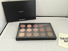 NEW 100% AUTHENTIC MAC X15 WARM NEUTRAL 15 TIMES EYESHADOW PALETTE