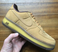 NEW SOLD OUT Nike Air Force 1 Low Retro SP Shoes Sneakers - Wheat Mocha Size 9.5