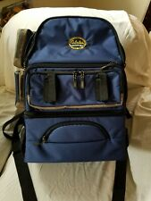 New Cabela's Extra large Anglers Backpack detach insulated food & drink storage