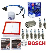 Land Rover Discovery II Tune Up Kit Filters-Oil-Air-Fuel-Spark Plugs-Wires 99-01
