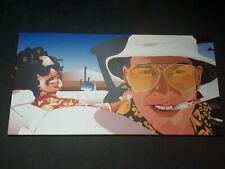 RAOUL DUKE Fear and Loathing in Las Vegas Movie Framed Canvas Print