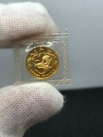 1985 Gold Panda 1/20 oz 5 Yuan Original Mint sealed Coin