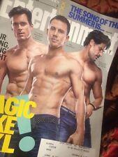 EW Magic Mike Xxl Channing Tatum Joe Manganiello Matt Bomer Stripper Chris Pratt