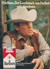 Marlboro Zigaretten - Reklame Werbeanzeige Original-Werbung 1973 (3)