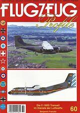 FP-60 C-160D Transall im Dienst der Luftwaffe, Flugzeug-Profile,NEU 5/2017&