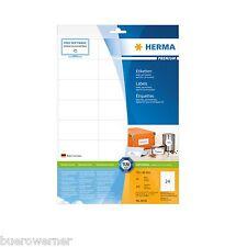 HERMA 8638 weiß 70x36 SuperPrint 240 Stück