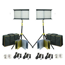 Camtree 2pc 2000 Heavy duty LED Studio Video film photography Light stand set