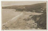 Pendower Beach Veryan Cornwall 1932 RP Postcard 317c