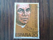 sello usado centenario fundación escuelas del Ave María, edif. 3028 año 1989