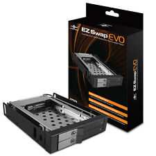 "Vantec EZ Swap EVO Dual Bay 2.5"" SATA SSD / HDD Removable Rack"