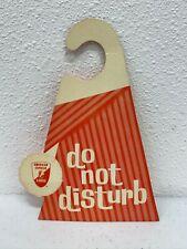 Vintage American Express Do Not Disturb/Maid Service Please Motel Door Hanger