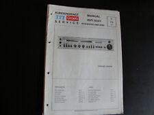 Original Service Manual Schaltplan  ITT Graetz Hifi 8041