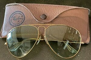 Ray-Ban RB3025 Aviator Sonnenbrille - Gold