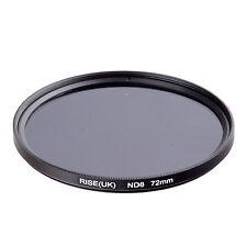 RISE(UK) 72MM 72mm Neutral Density ND8 filter for ALL DSLR SLR Camera lens .