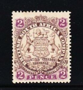Album Treasures  Rhodesia Scott #  28  2p  Coat of Arms  Mint Hinged