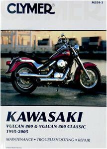CLYMER Repair Manual for Kawasaki Vulcan 800 and 800 Classic 1995-2005