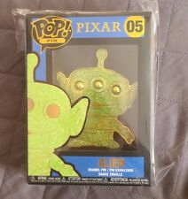 Funko Pop Large Pin Pixar Toy Story Alien Chase New #05 *Free Shipping*