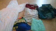 Lot 15 vêtements & accessoires femme 42 / 44 (pantalons, robe, tee-shirt...)