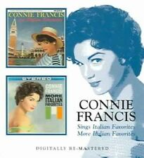 Sings Italian Favorites/More Italian Favorites [Remaster] by Connie Francis (CD, Feb-2006, Beat Goes On)