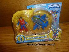 Imaginext DC Super Friends Battle Armor Superman Robot Suit Enemy of Lex Luthor