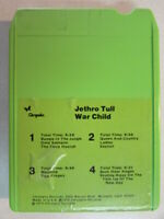 JETHRO TULL WAR CHILD VINTAGE 1974 8 TRACK TAPE CARTRIDGE CHRYSALIS M8C 1067 OOP