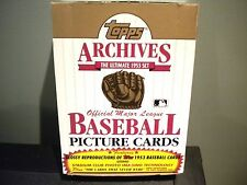 1991 Topps Archives 1953 36 Pack Box Mantle, Mays, Williams, Aaron?!!!
